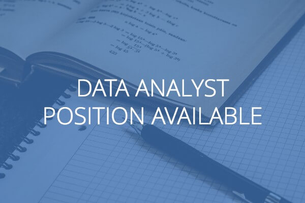 data analyst position available